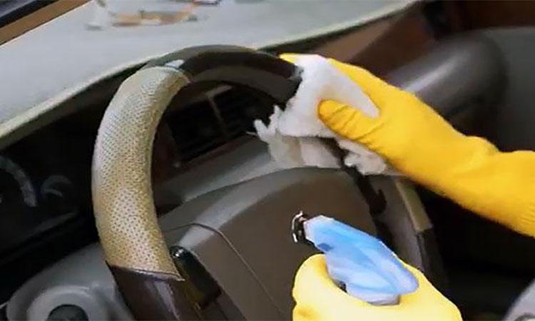 روش تهیه محلول برای گندزدایی خودرو